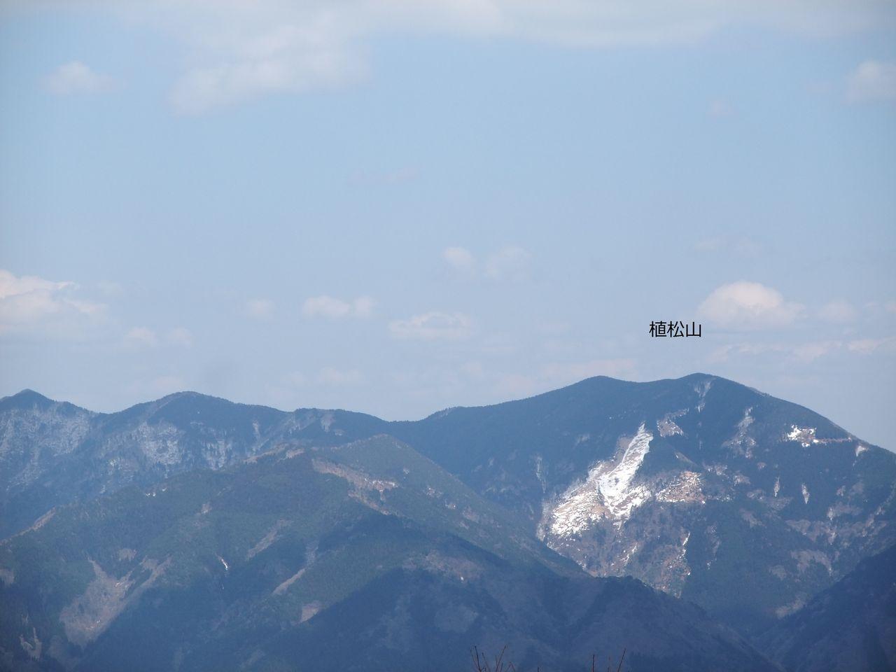 日名倉山 植松山