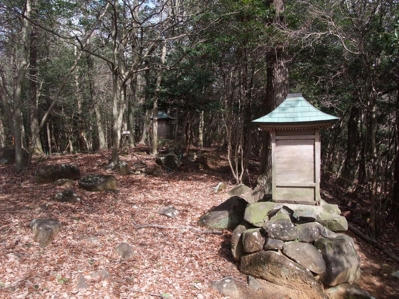 峰相山 鶏足寺跡