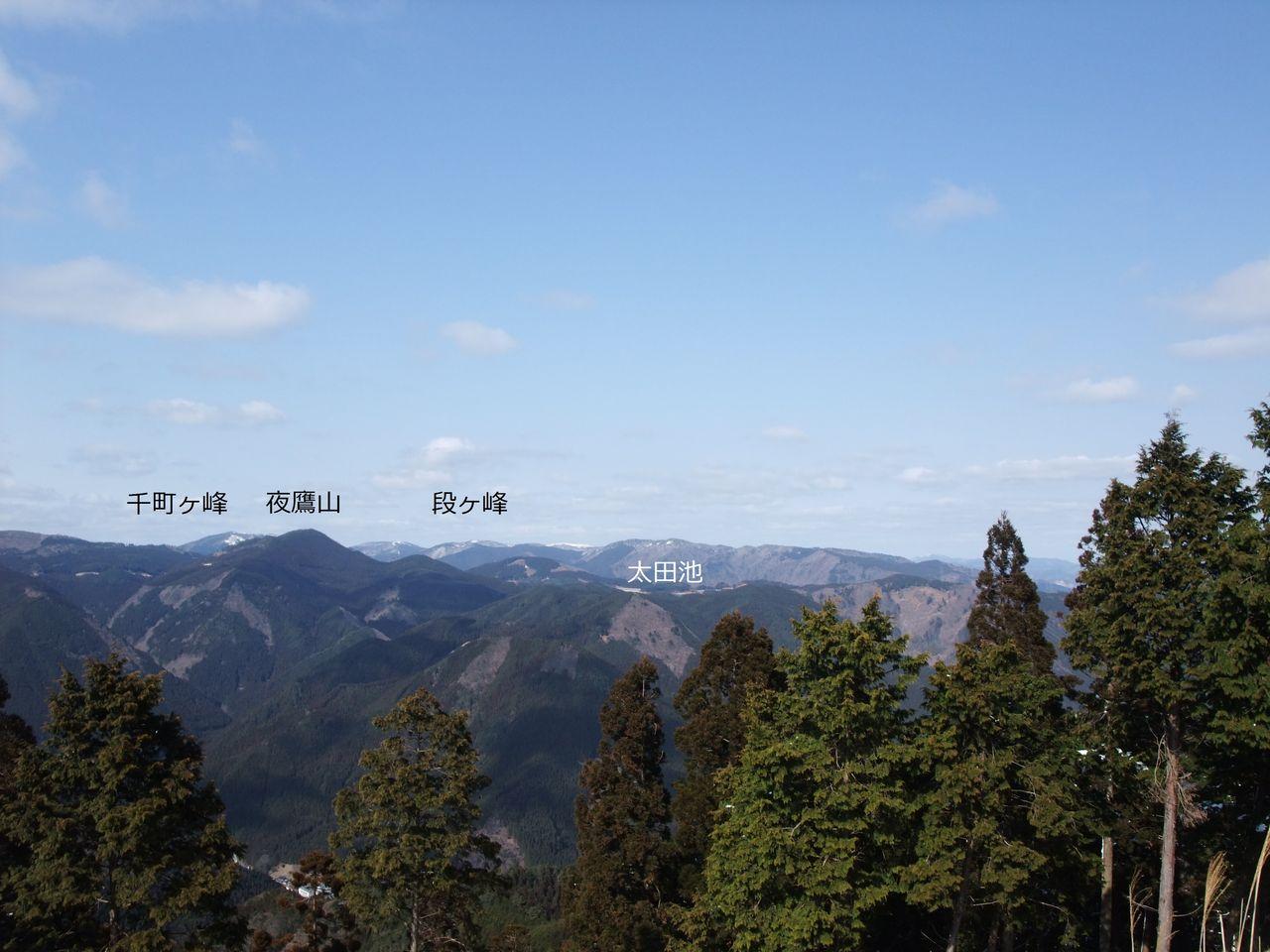 三辻山 山頂