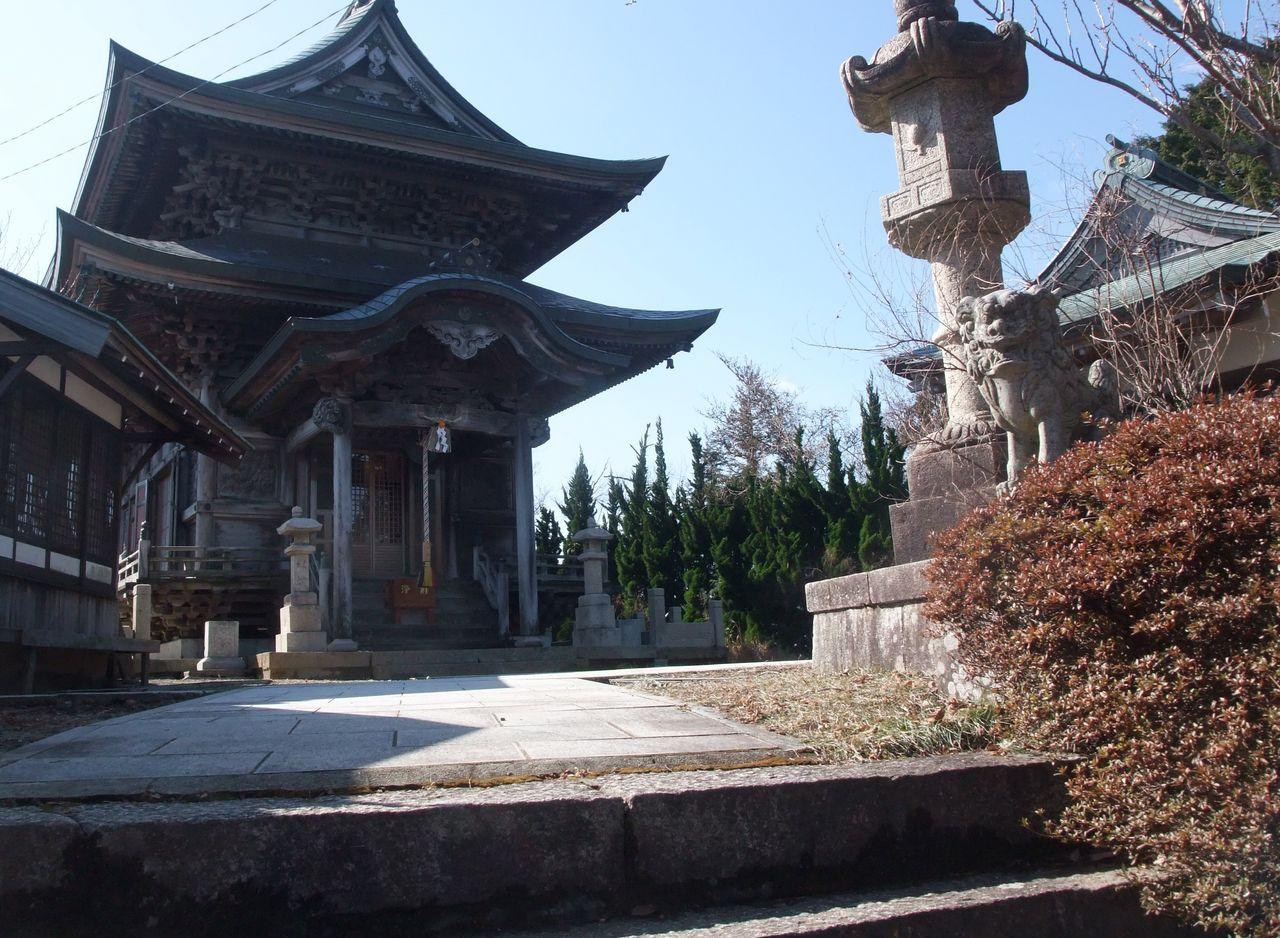 有馬三山 妙見寺