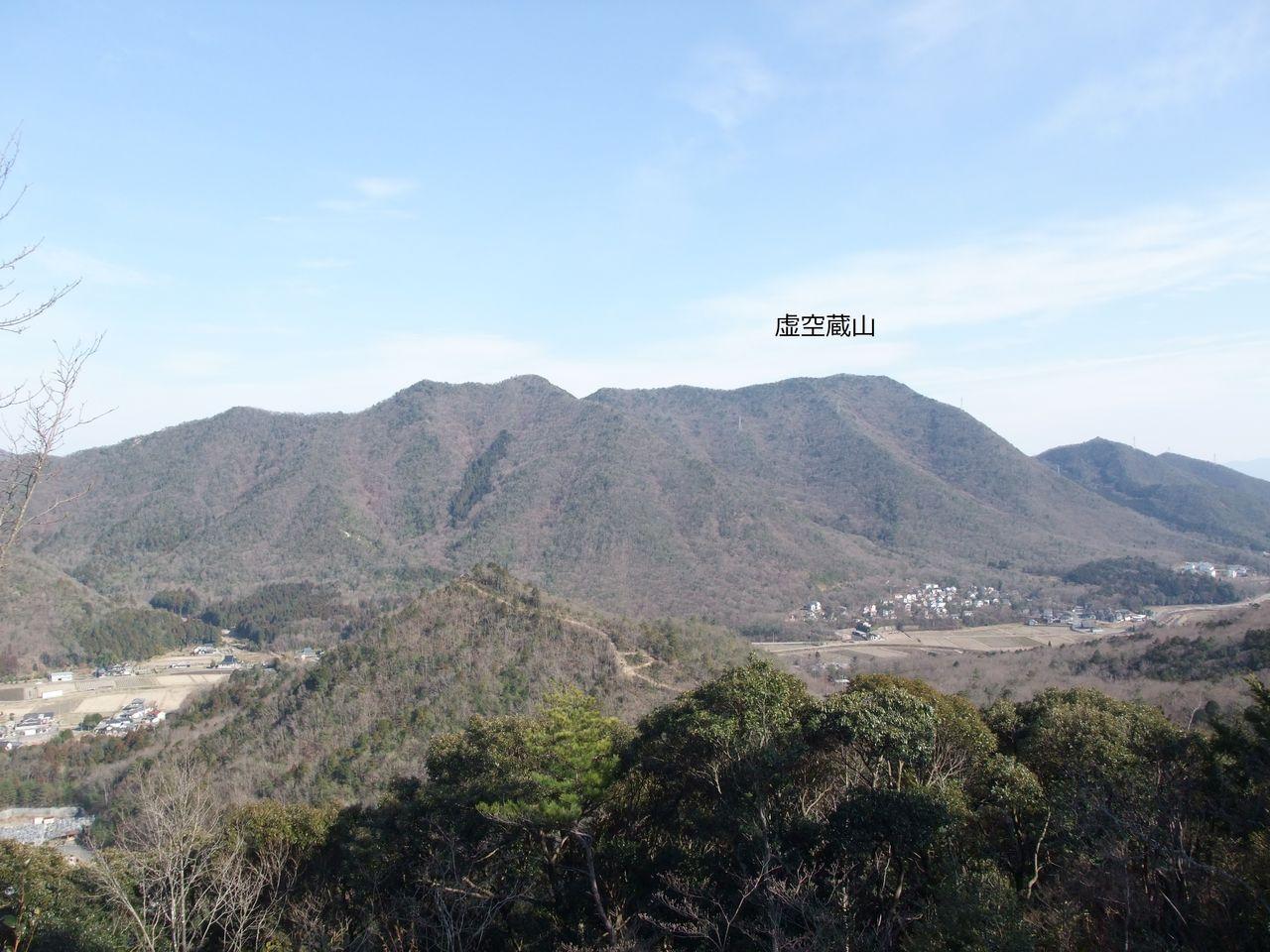 篠山市 今田町 和田寺山 和田谷展望台 虚空蔵山