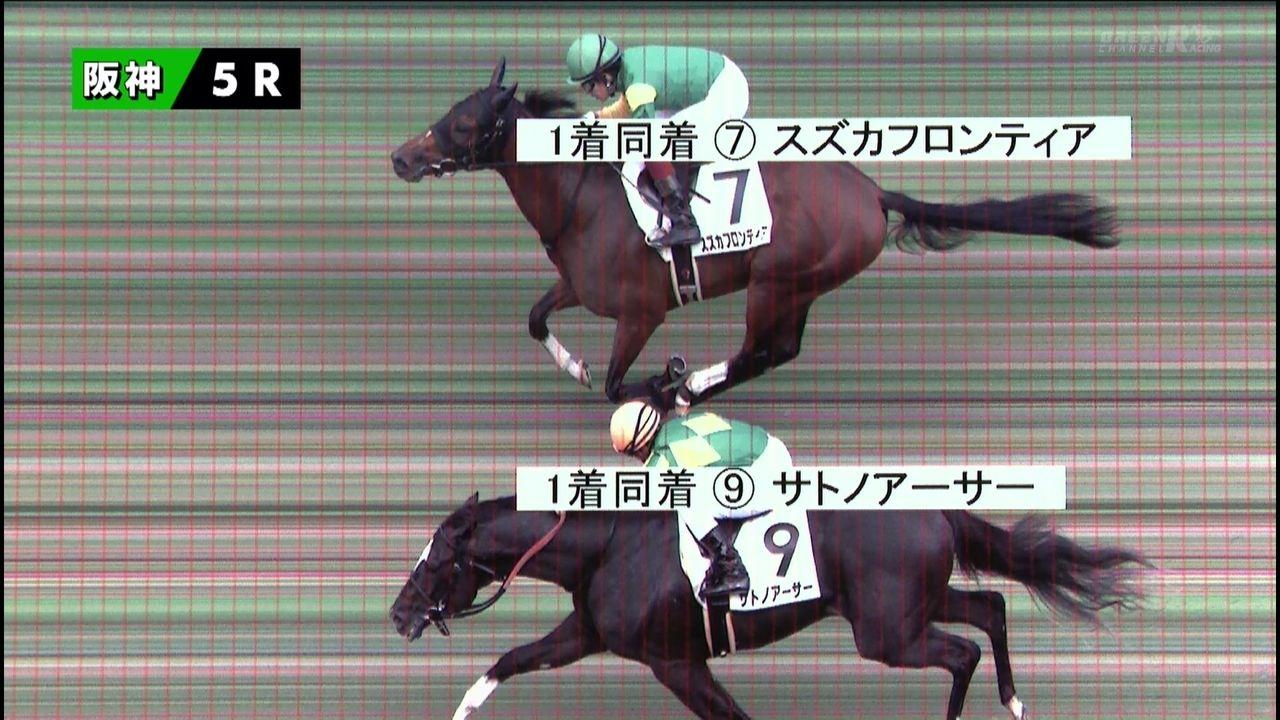 2歳新馬】2億円馬「サトノアーサー」新馬勝ちは同着 : ☆うまなみ ...