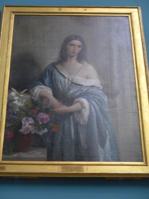 ミラノ、ブレラ絵画館の展示作品...