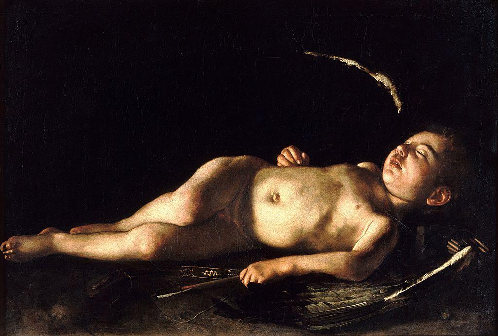 1024px-Sleeping_Cupid-Caravaggio_(1608)
