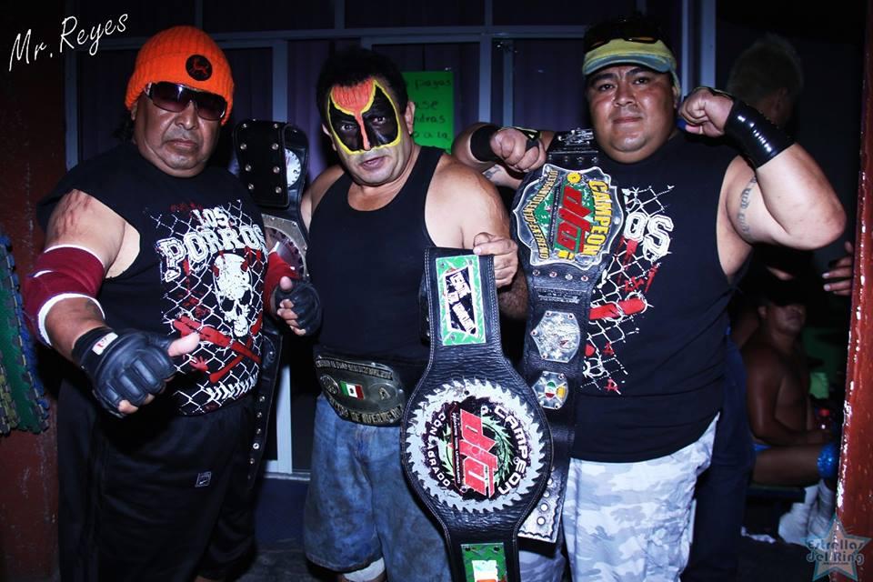 Luchadores Los Porros Los Porros