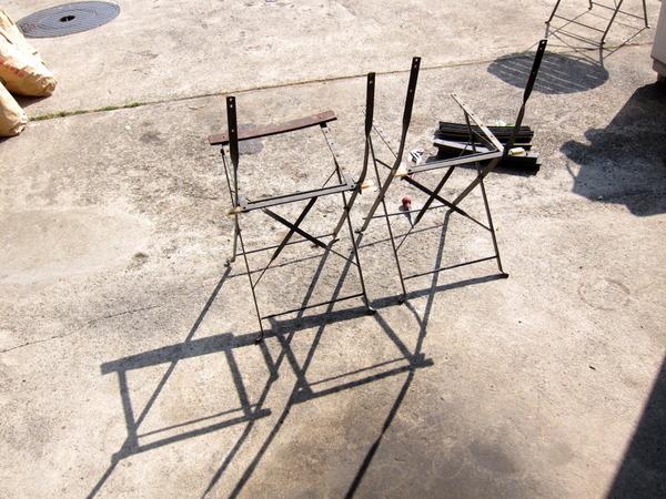 2013年05月07日(火)・・・椅子の板外し、完了