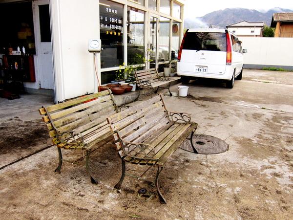 2013年04月06日(土)・・・ベンチ再生計画、まずは丸洗い