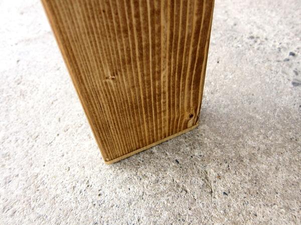 2013年03月30日(土)・・・作業台フレーム:脚の調整とダボ塗り