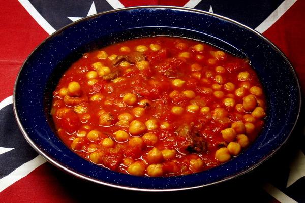 2014年11月29日(土)・・・塩漬け肉とひよこ豆のチリ