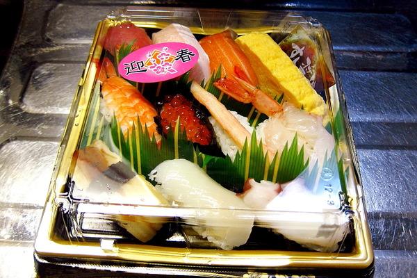 2019年01月03日(木)・・・お寿司の保存方法