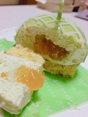 まんまるメロンケーキ3