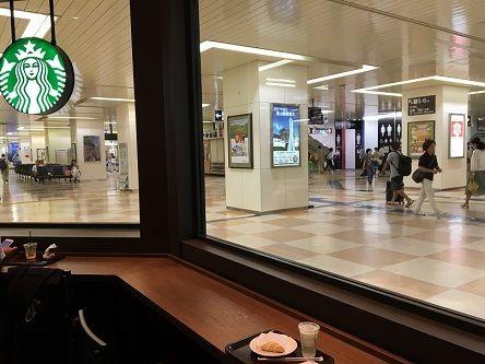スタバ福山駅6