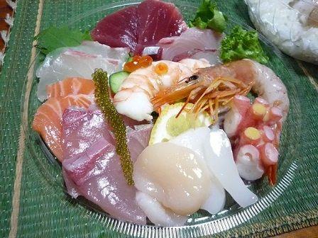 魚博海鮮丼
