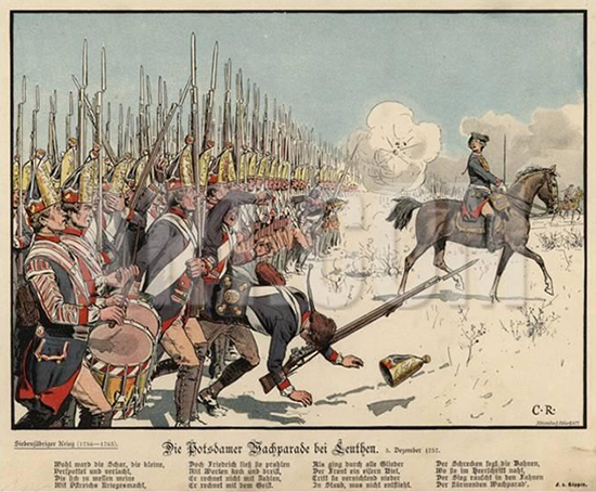 carl-rochling-prussian-infantry-at-the-battle-of-leuthen