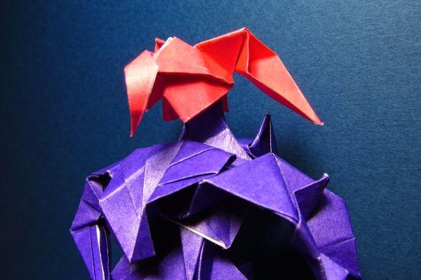 紙 折り紙:折り紙 ロボット-blog.livedoor.jp