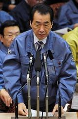 110329答弁する菅首相