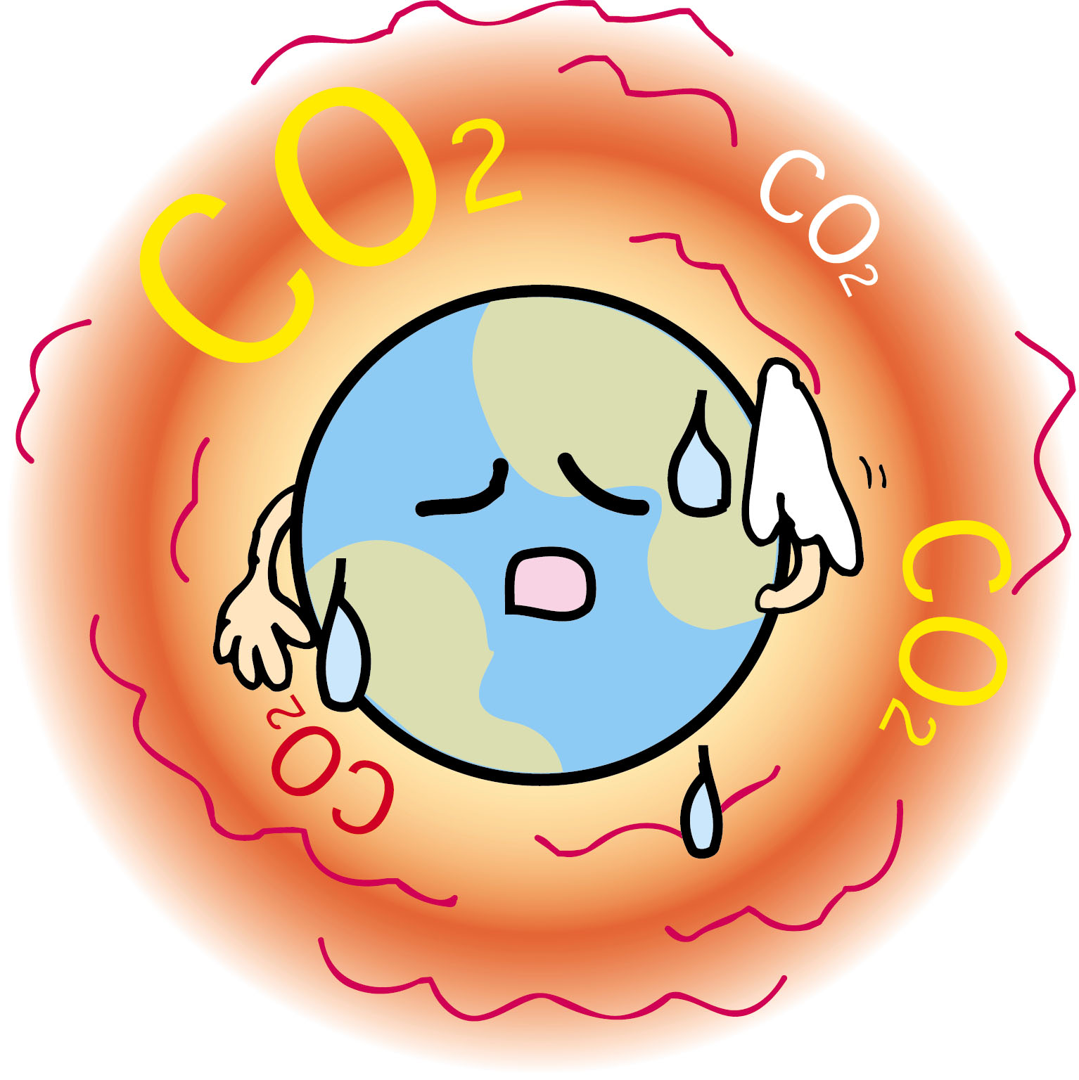 Global Warming Clip Art : 時間 グラフ : すべての講義