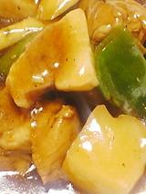 鶏とこんにゃくのピリ辛煮UP
