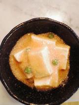 豆腐の明太子煮