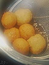 豆腐ツナ団子made