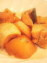 大根と鮭のピリ辛煮
