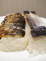 生 焼き 鯖の押し寿司