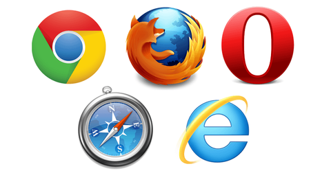 IE←情弱 Chrome←キモオタ Firefox ←意識高い系