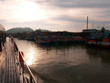 チュンポン港~外洋へ