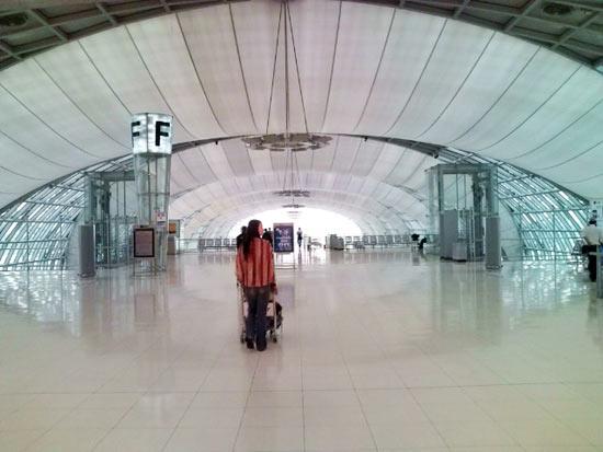 バンコクの空港