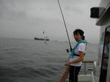 初めての釣