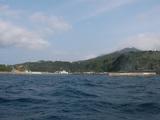 波浮港入り口
