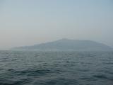 霧の難所金華山