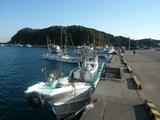 大王崎の漁港