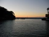 松崎港の夕日