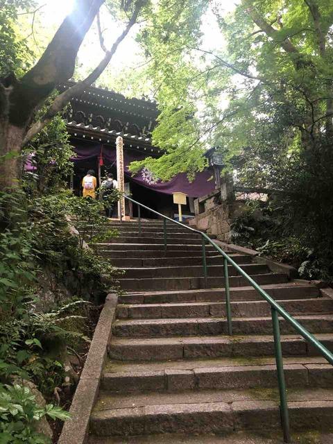長楽寺_お堂への階段