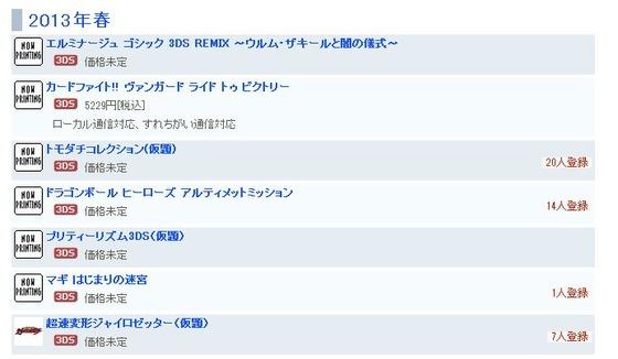 PSP 「エルミナージュ ゴシック ~ウルム・ザキールと闇の儀式~」が 3DSに移植・2012年春発売予定日