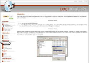 Exact Audio Copy V1.0 beta 3 日本語化解説