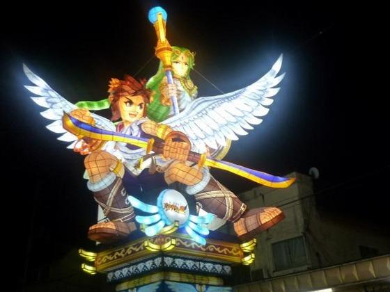3DS「新・光神話 パルテナの鏡」、『パルテナ立佞武多』 ARおドールカードを期間限定で配布