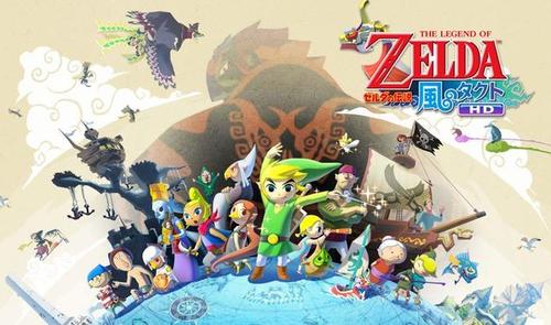 Wii U「ゼルダの伝説 風のタクト HD」 Amazon予約開始!