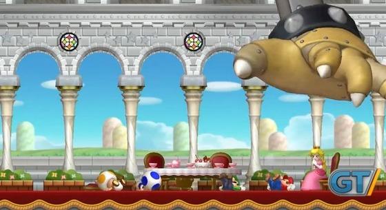 WiiU「NewスーパーマリオブラザーズU」の 最新プレイムービーが公開