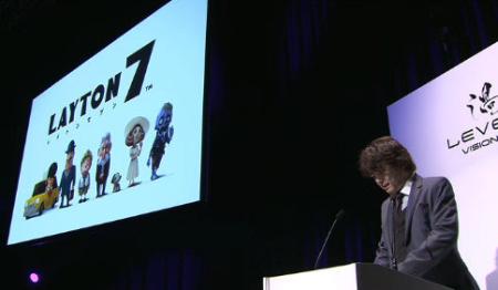 「レイトン7」が発表!iOS/Android/3DSに対応予定