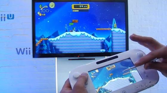 Wii U「NewスーパーマリオブラザーズU」の 最新プレイムービーが公開