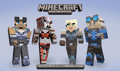 XLA「Minecraft」新たなコラボスキンパックの情報『Gear of War』が公開