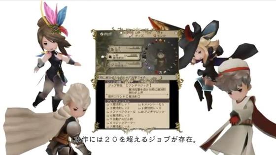 3DS「ブレイブリーデフォルト」のTVCMが公開