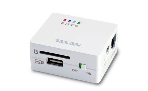 iOS/Android対応、SDやUSBメモリが読めるモバイルWiFiサーバ&ルータ MeoBank SDが発売されます