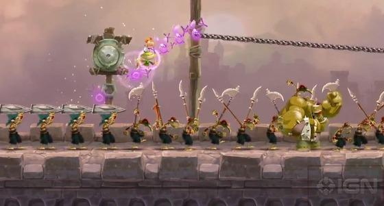 WiiU「レイマン レジェンズ」 最新プレイムービーが公開