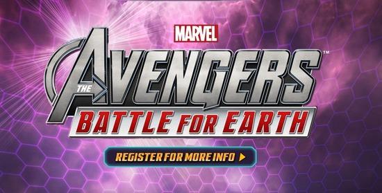 Kinect/Wii U「Marvel Avengers: Battle for Earth」