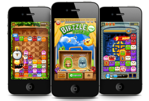 「LINE」ゲームとの連携サービス開始・第1弾アプリとなる「LINE Birzzle(ライン バズル)」が7月4日iPhone、Android向けに配信