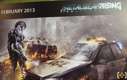 PS3/Xbox360「Metal Gear Rising: Revengeance」 海外誌の広告から発売時期が2013年2月になる可能性が濃厚