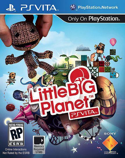 PS Vita版「リトルビッグプラネット」 E3 2012 トレイラー